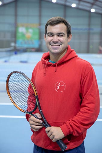 Ellis Ward - Tennis Coach