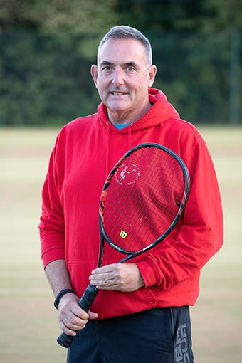 Laurence Kelly - Tennis Coach