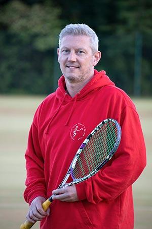 Simon Park Squash Coach